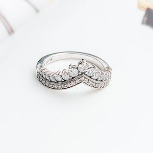 Princess Wishbone Ring